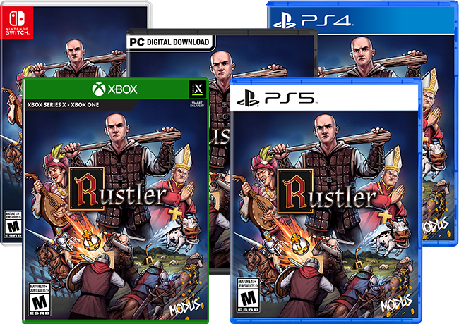 Rustler packshots